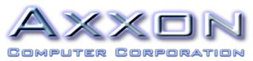 Axxon Leader in PCI Express I/O Cards Logo
