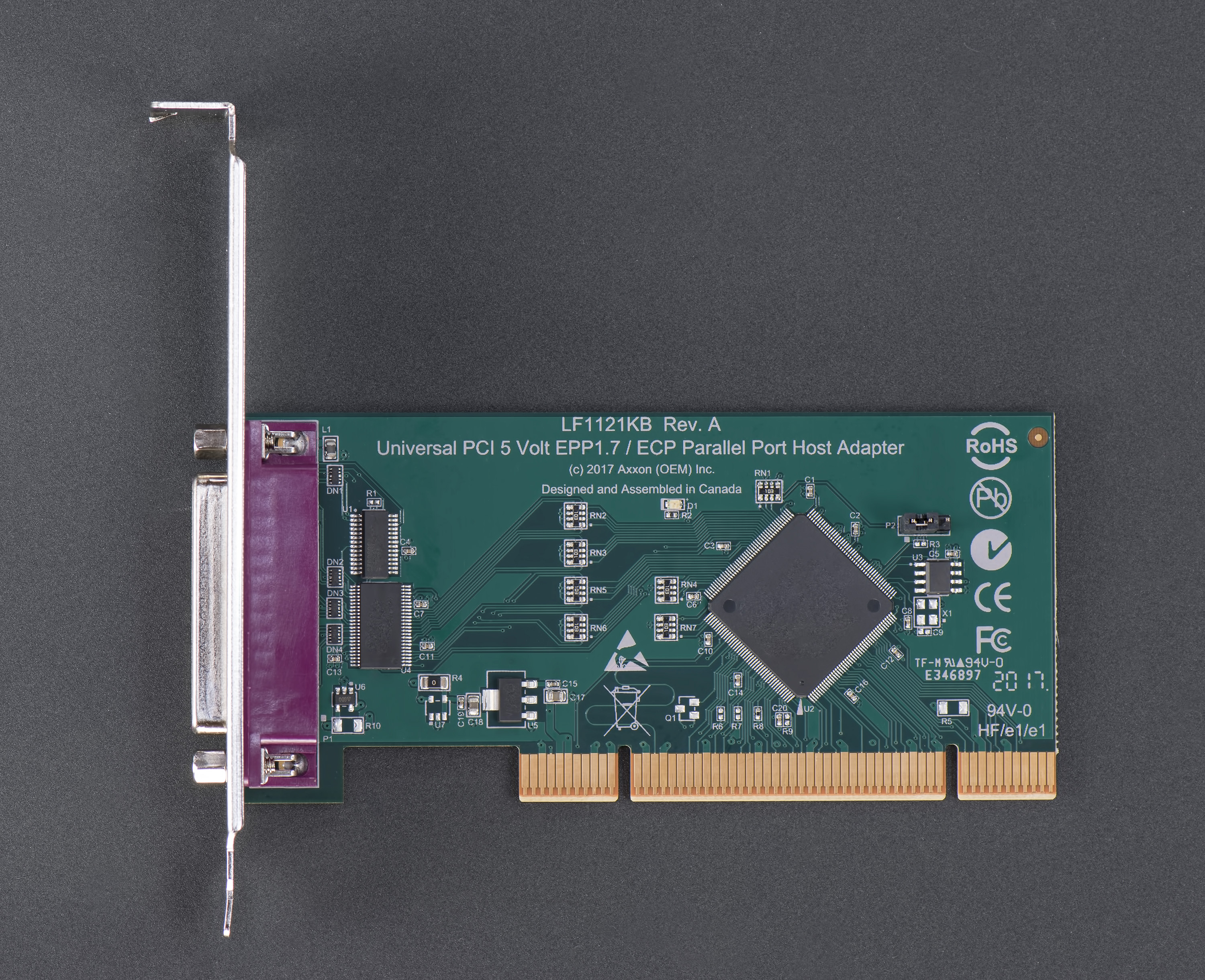 LF1121KB Universal PCI Bus 5 volt Parallel Port Host Adapter